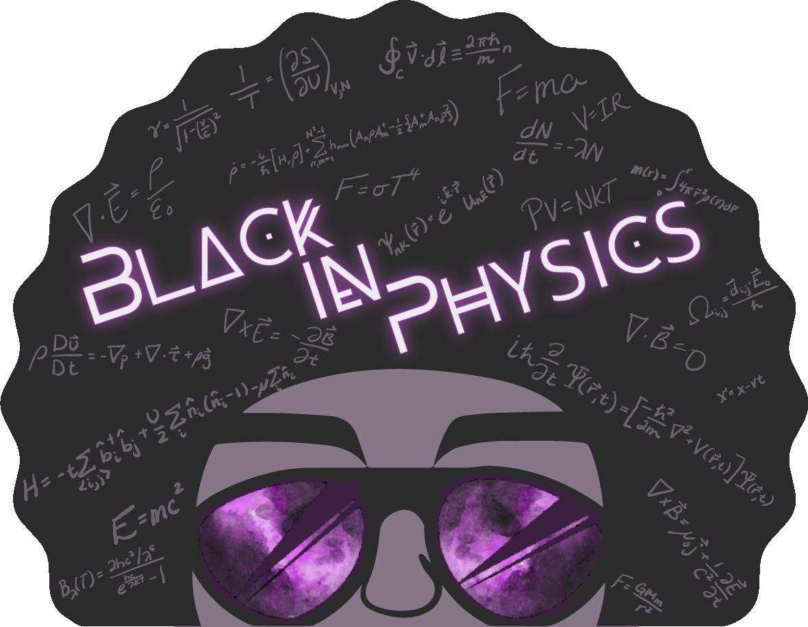BlackInPhysics Logo 2021